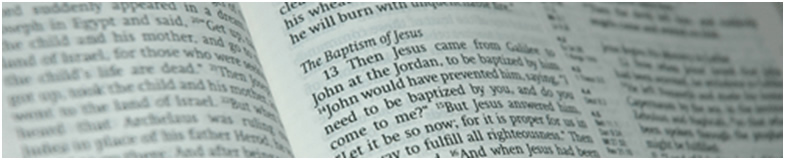 "Scripture tells us clearly that we should ""Repent and Be Baptised""."